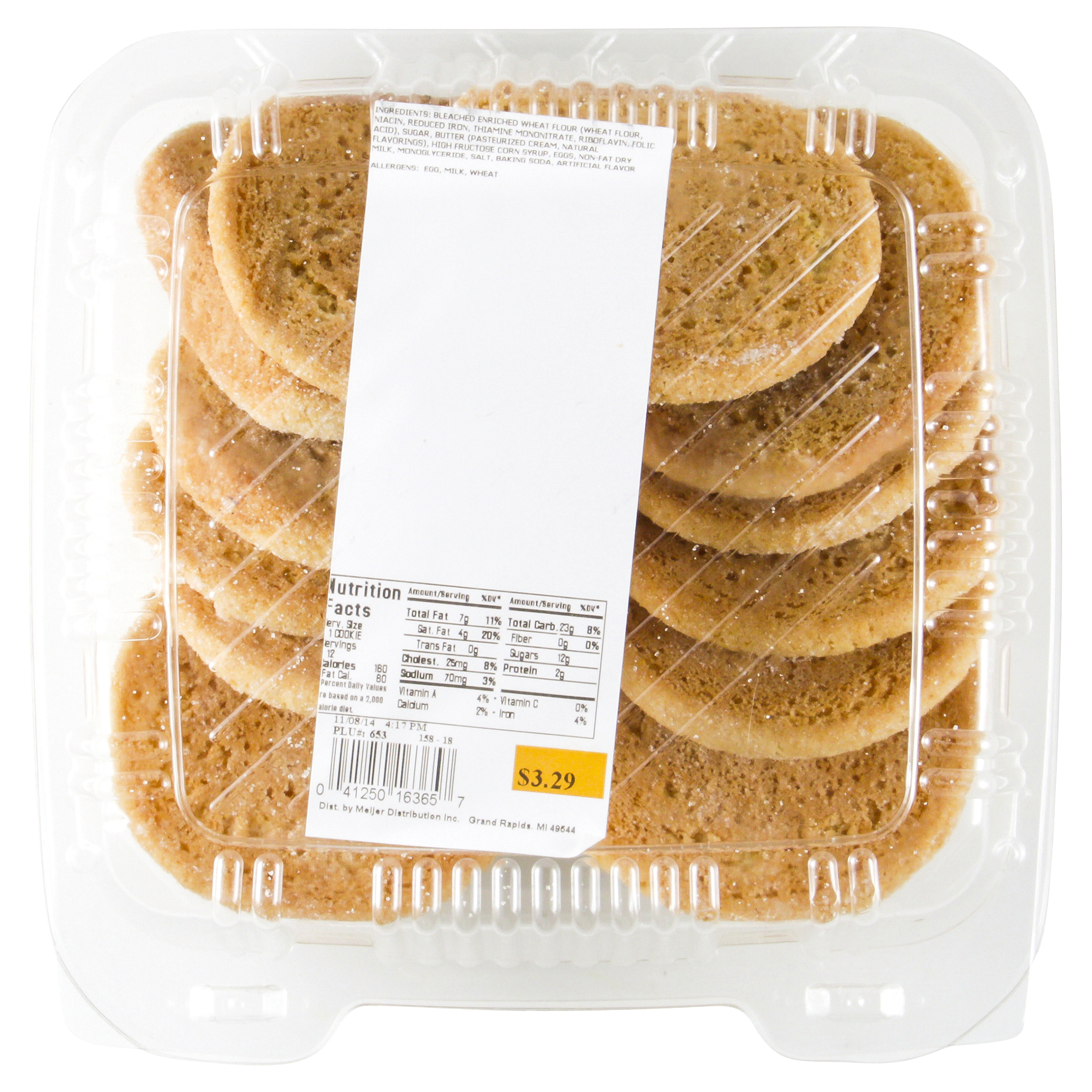 Meijer Ultimate Sugar Cookies 12 Count Meijer Com