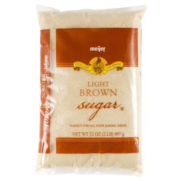 Meijer Light Brown Sugar 2 Lbs
