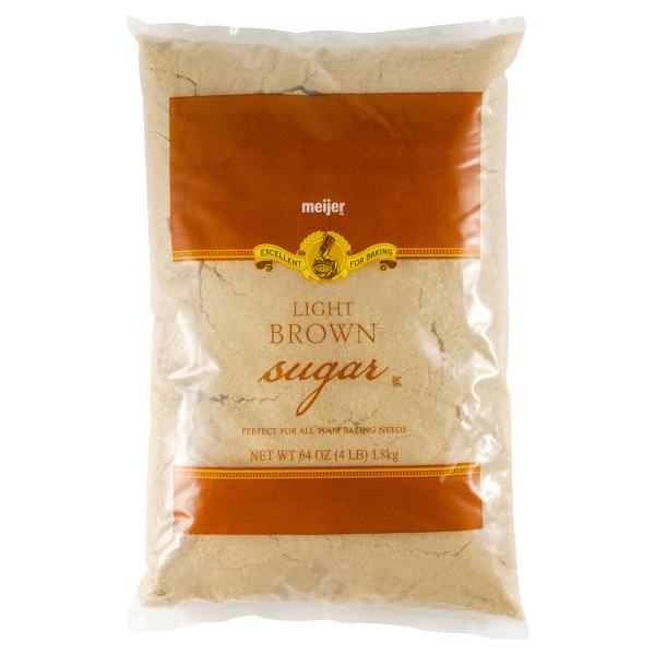 Meijer Light Brown Sugar 4 Lbs