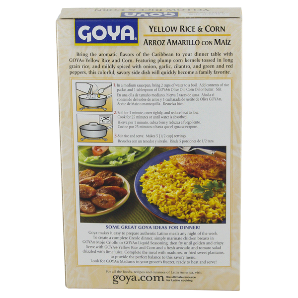 Goya Instant Rice Corn Mix 8 Oz Meijer