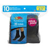 Meijer.com deals on 10Pk Fruit of the Loom Womens Stays Crew Athletic Sock Size 8-12