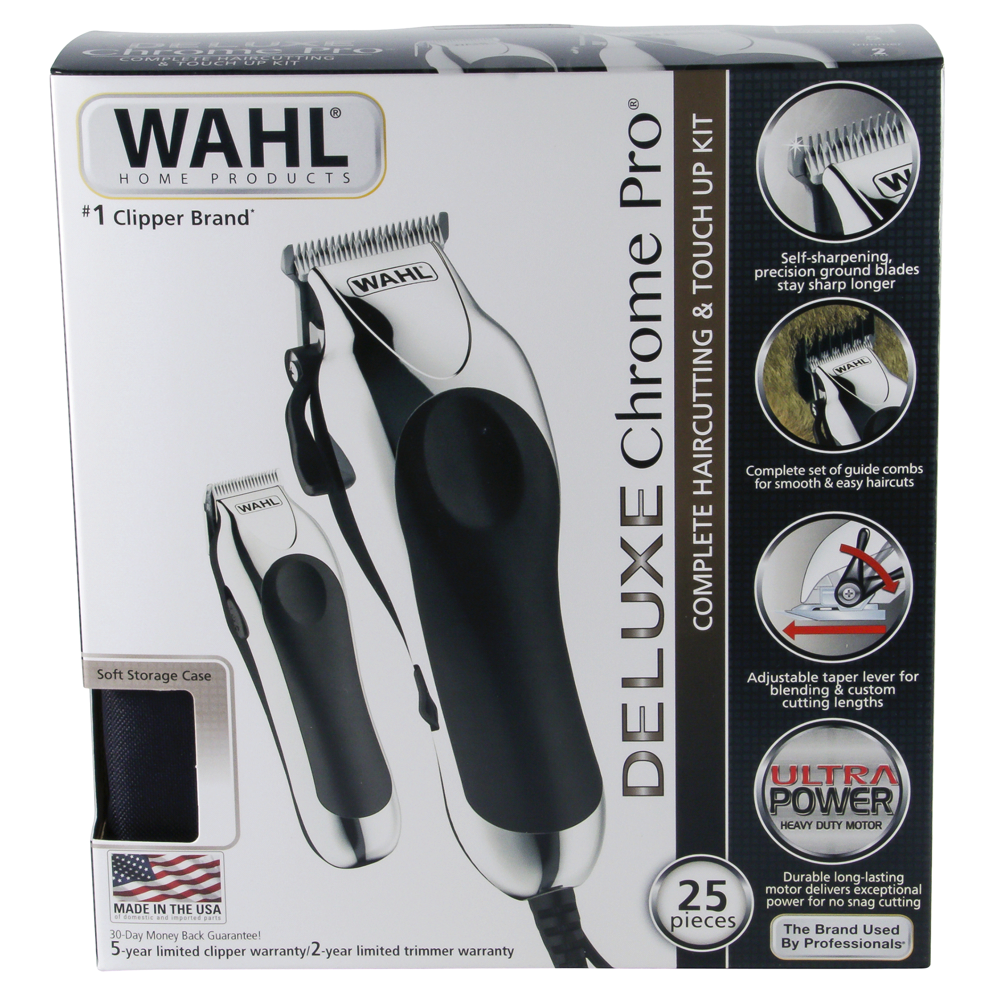 Wahl deluxe chrome pro hair cutting kit meijer solutioingenieria Gallery