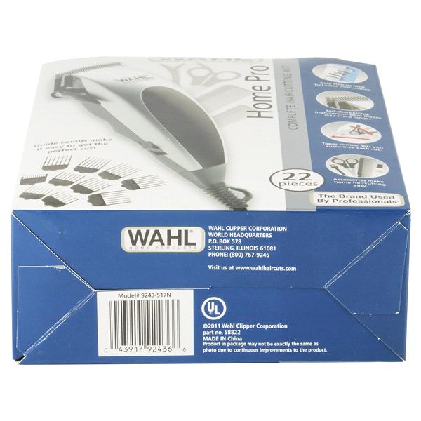 Wahl Home Pro 22 Pc Hair Clipper Kit Meijer