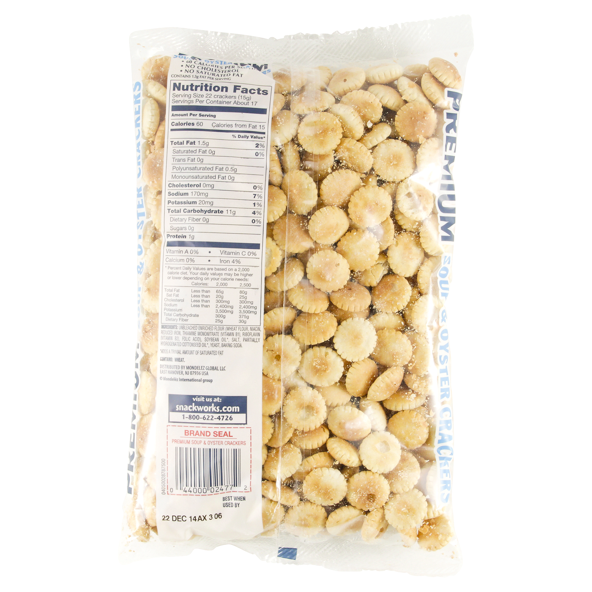 nabisco premium oyster crackers 9 oz | meijer