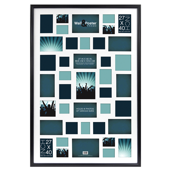 Mcs Townsend Collage Frame Black 27 X 40 Meijer