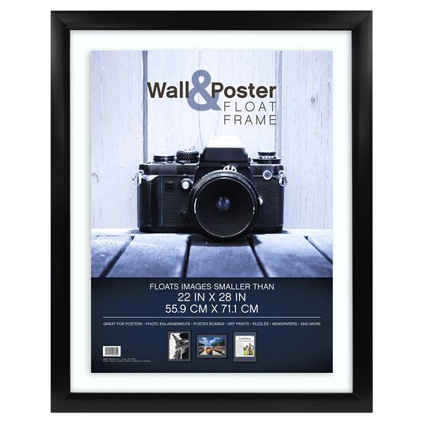 MCS Gallery Float Poster Frame - Black - 22 x 28   Meijer.com
