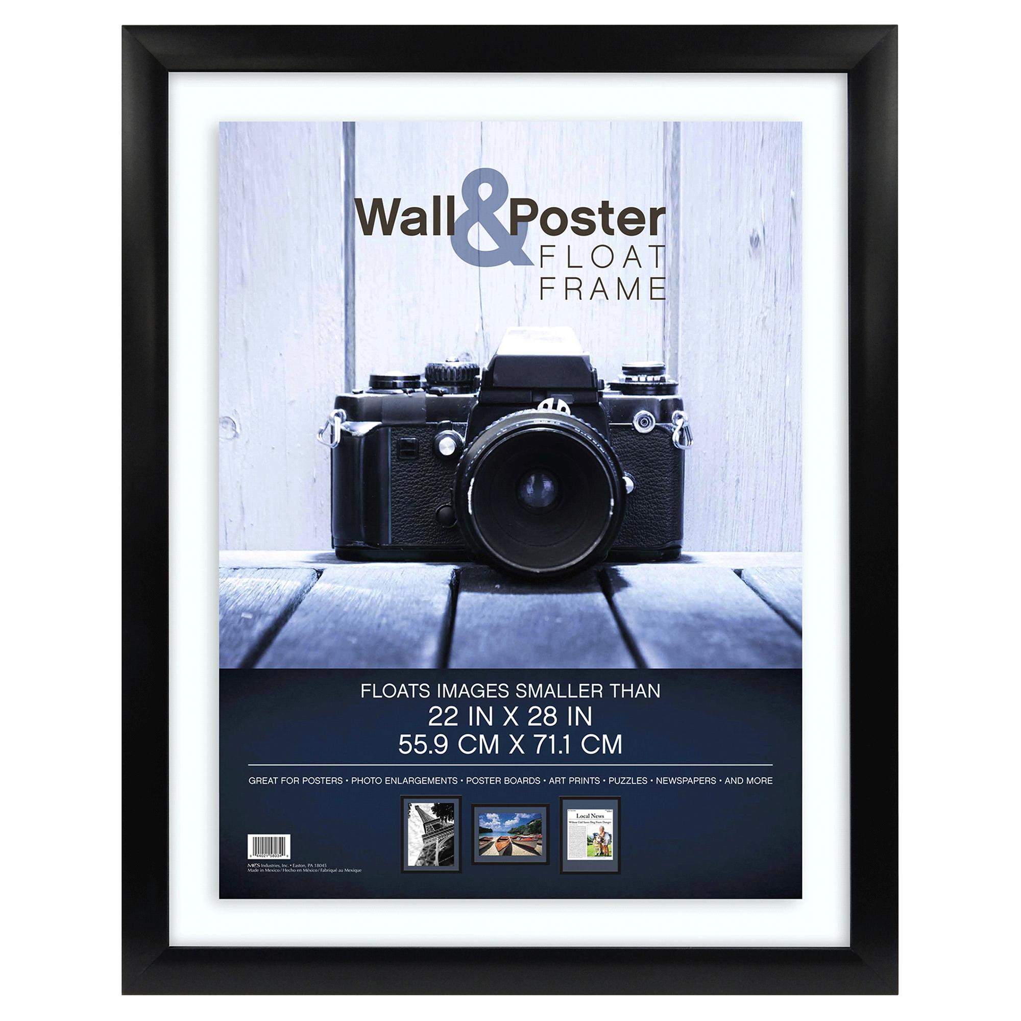 MCS Gallery Float Poster Frame - Black - 22 x 28 | Meijer.com