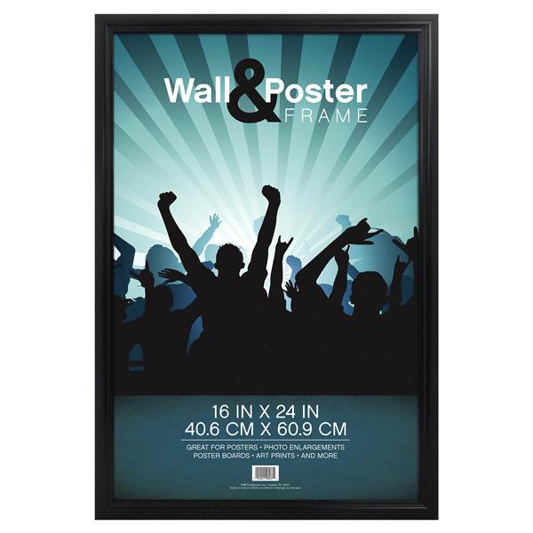 mcs townsend poster frame black 16 x 24 meijer com