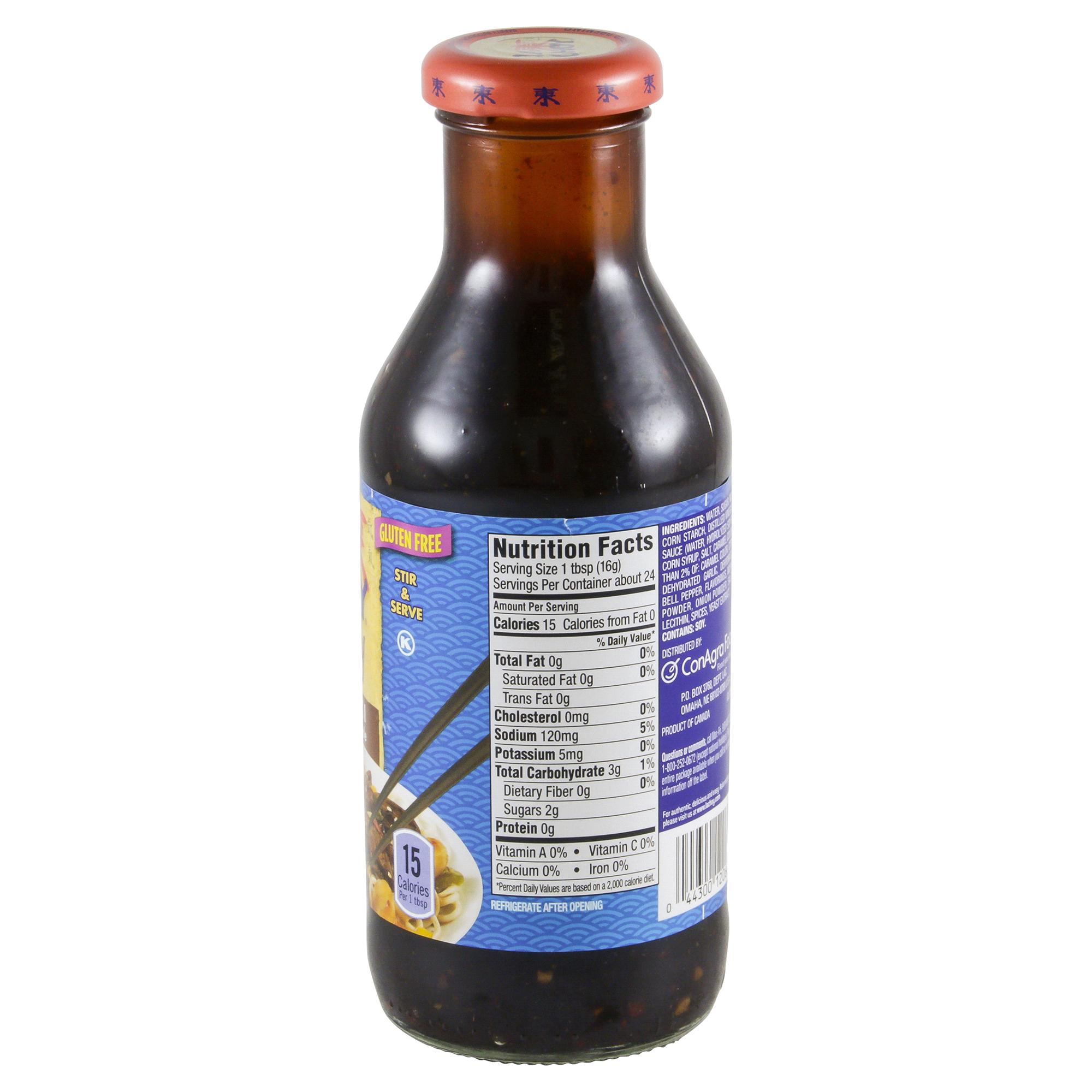 la choy teriyaki sauce nutrition facts  blog dandk
