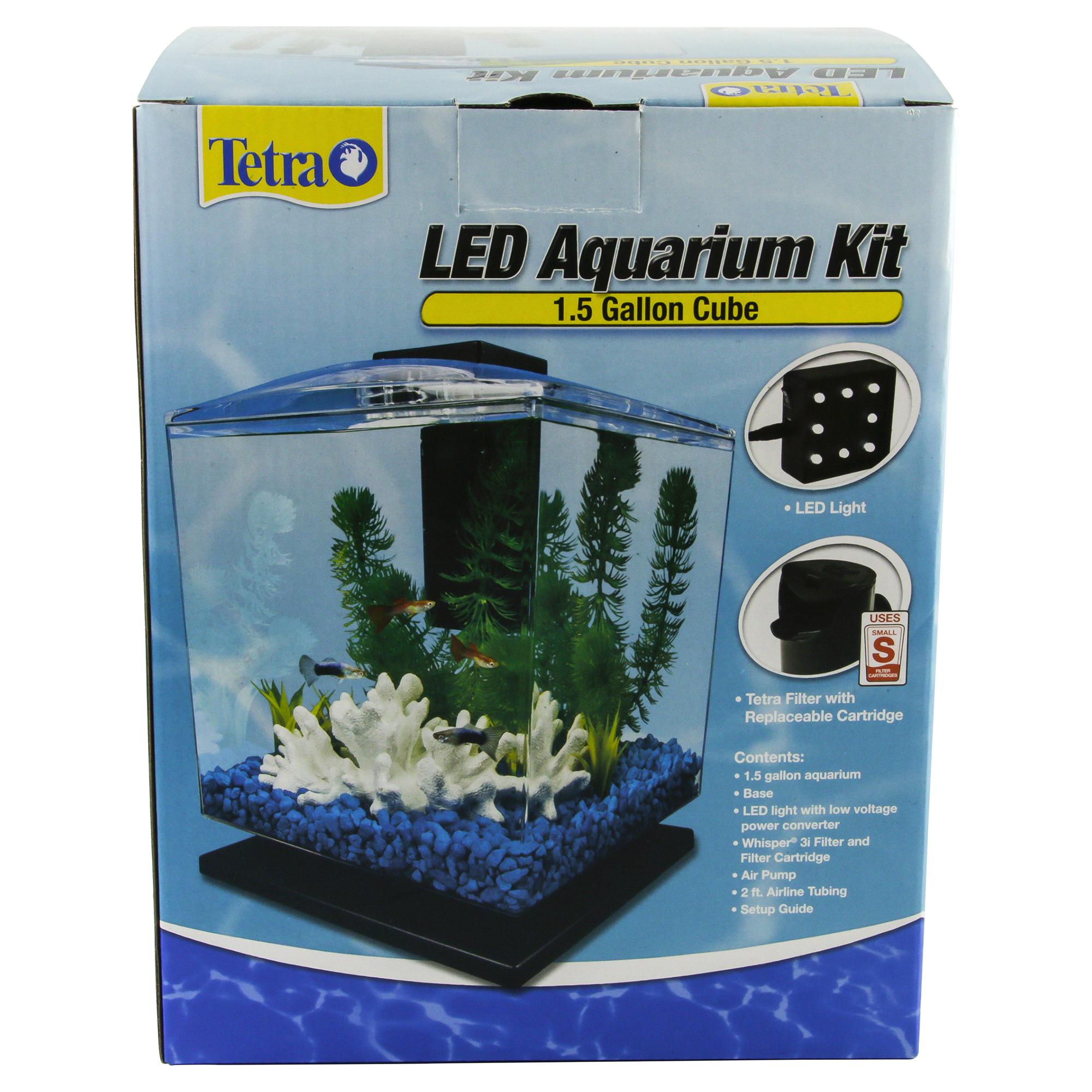 Tetra Aquarium Cube Tank 1 5 Gallons 1000 Aquarium Ideas