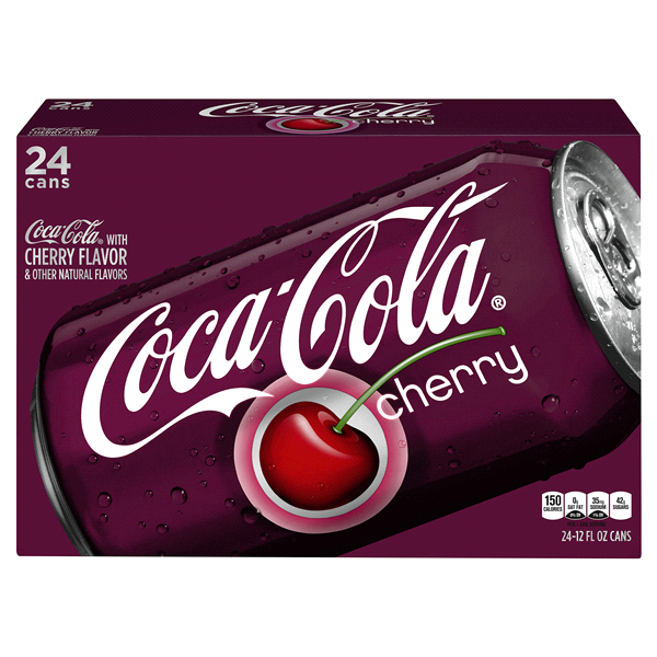 Coca Cola Cherry 12 oz. 24 pack cans | Meijer.com