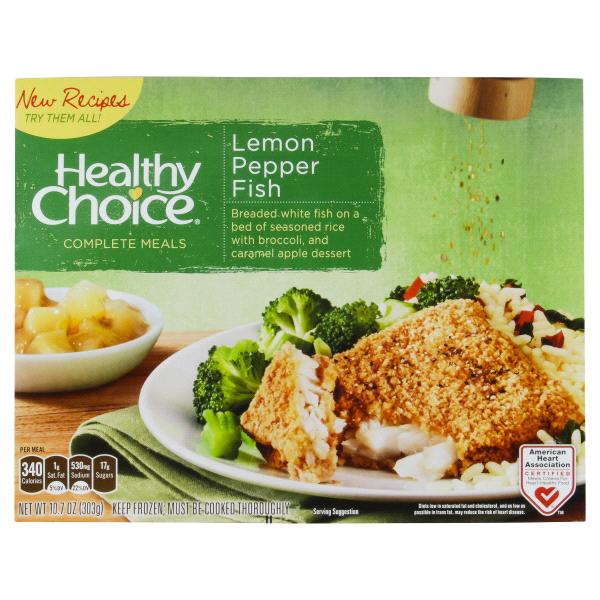 8da1b62d04 Healthy Choice Complete Meals Lemon Pepper Fish -10.7 oz