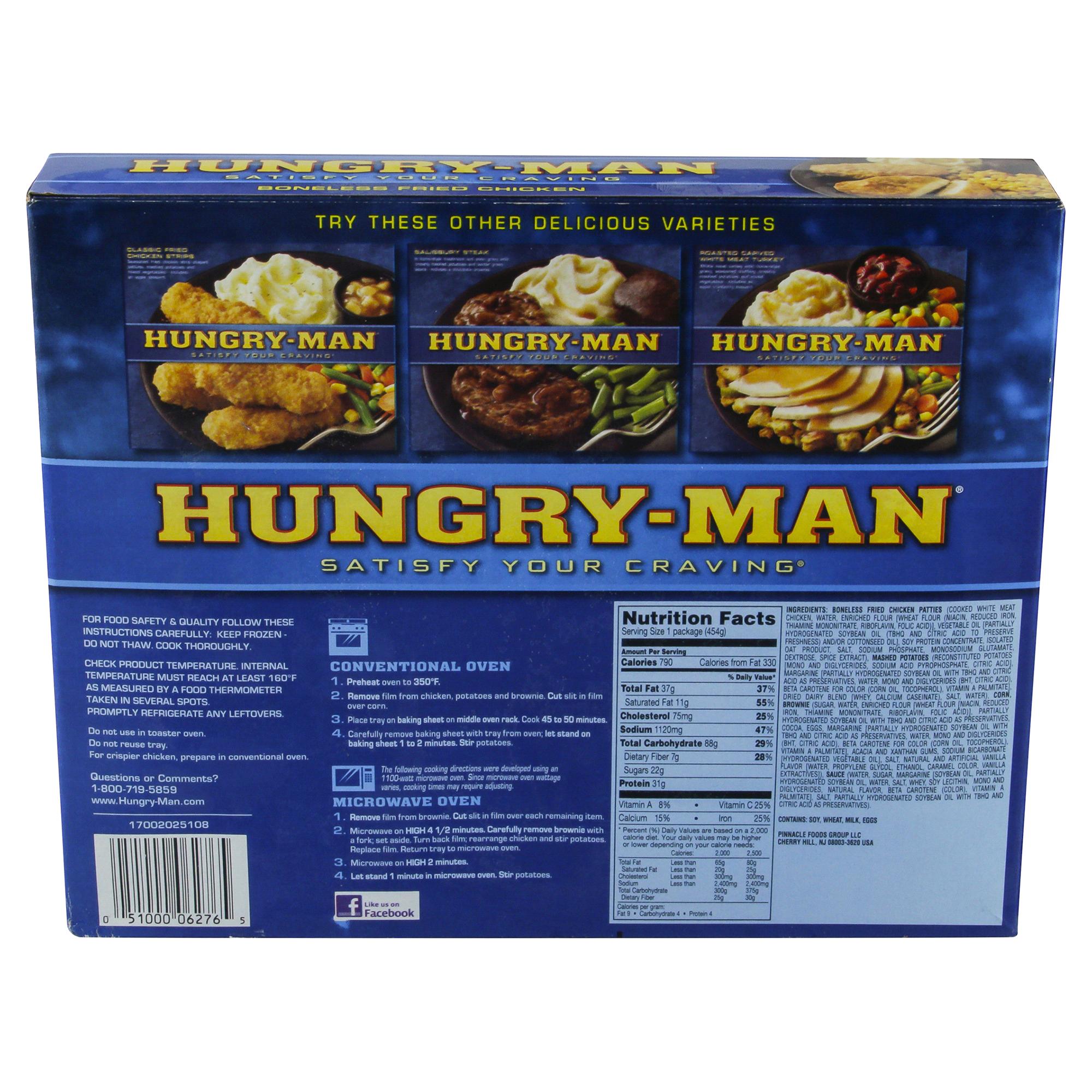 Hungry-Man Boneless Fried Chicken - 16 oz Box | Meijer.com