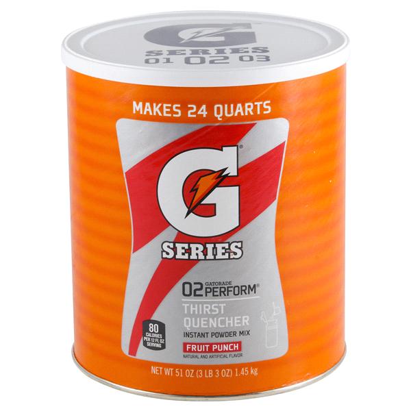 Gatorade Powder Mix Fruit Punch 51 Oz Meijer