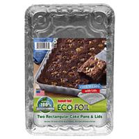 Handi Foil Eco Foil Cook N Carry Ready Mix Cake Pans W