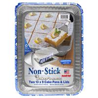 Handi Foil Bakers Magic Non Stick  Cake Pan W Lid 2