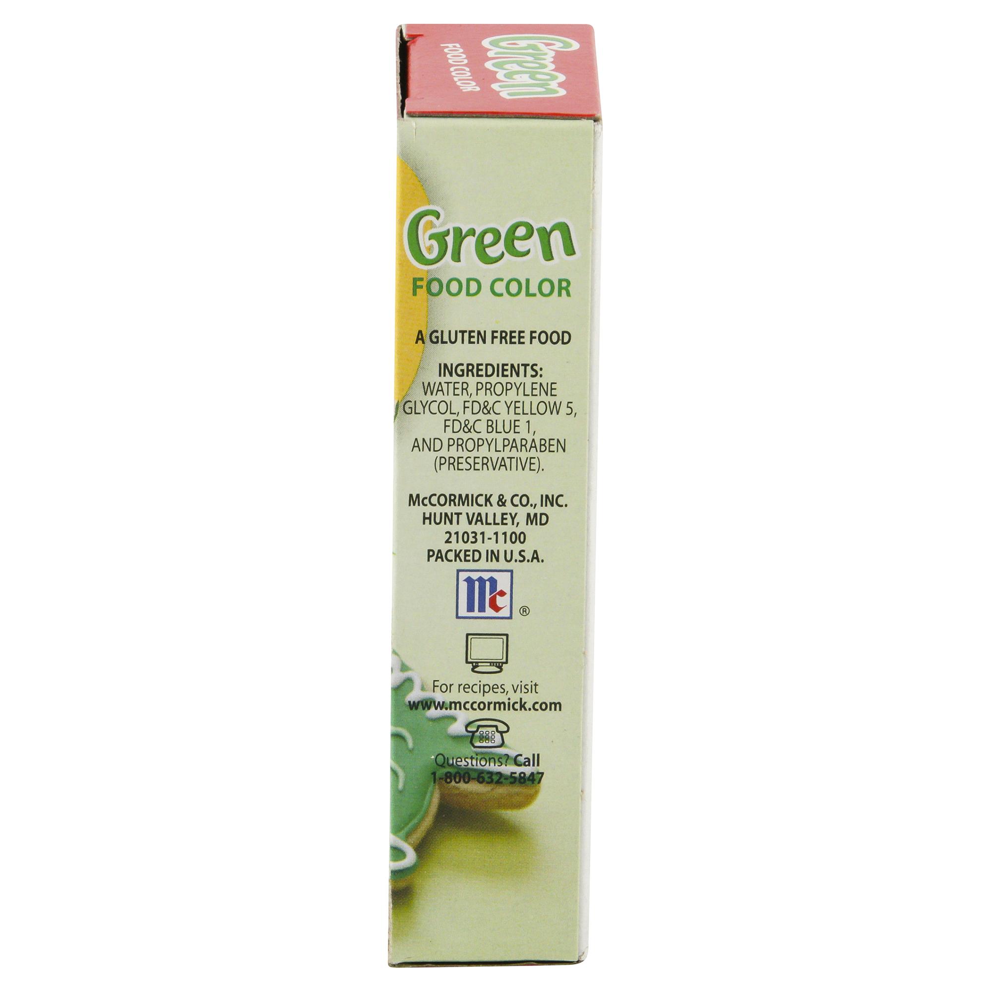 McCormick Green Food Color 1 oz | Meijer.com