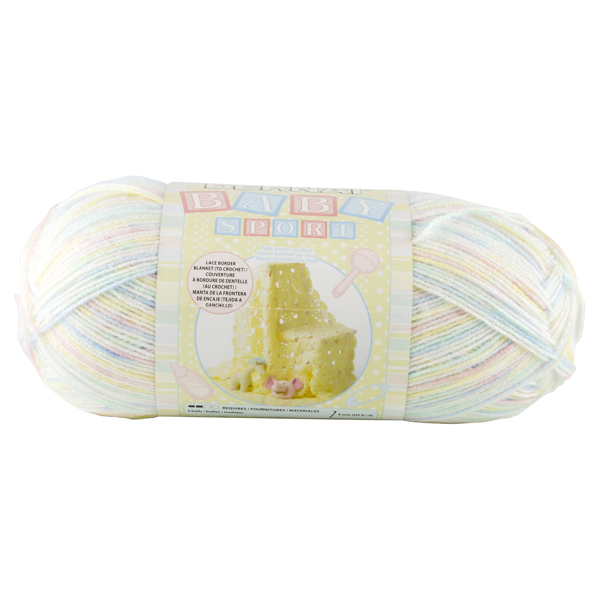 Bernat Baby Yarn Sport Ombre Sweet N Sunny | Meijer.com