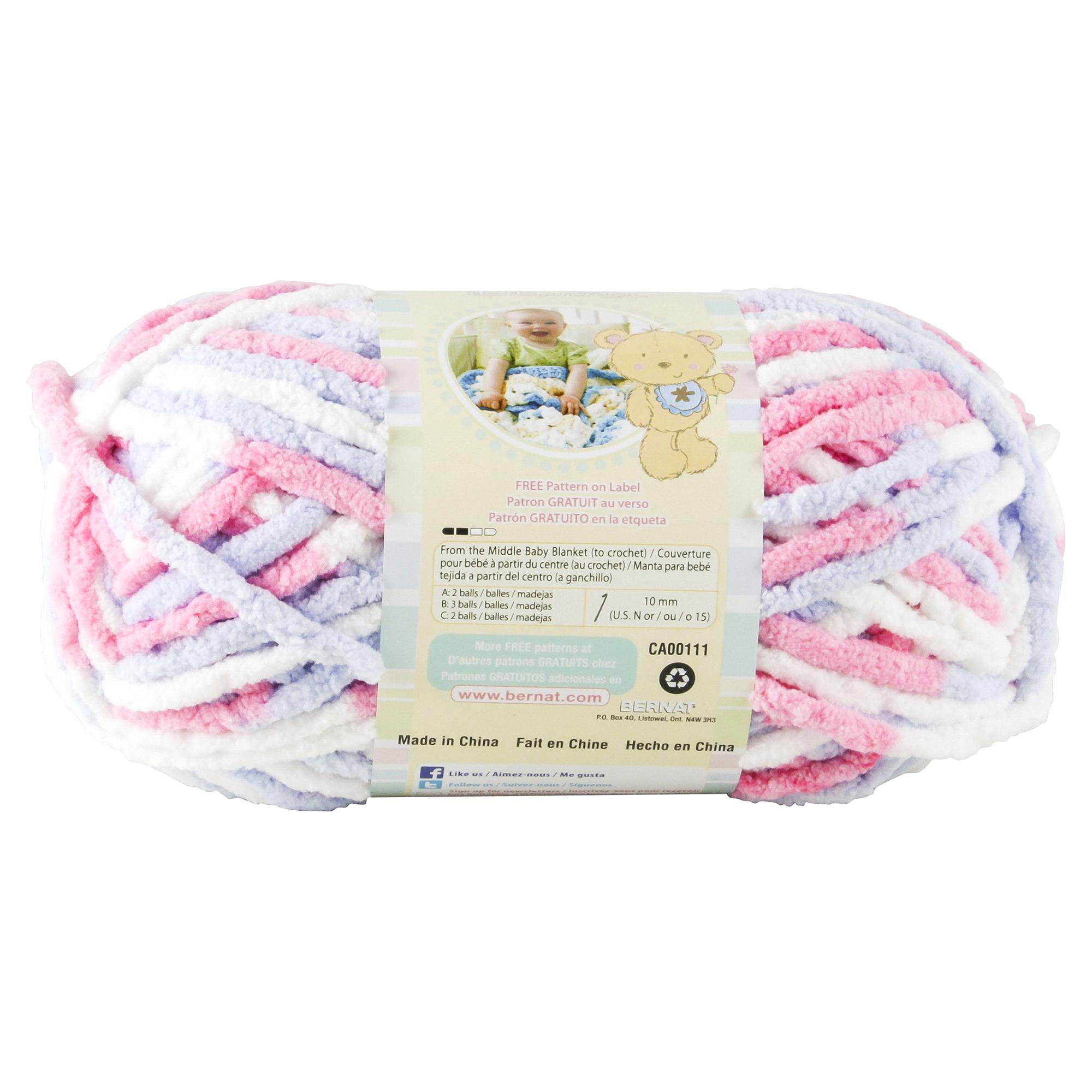 Bernat Baby Blanket Ombre Yarn Pink/Blue | Meijer.com