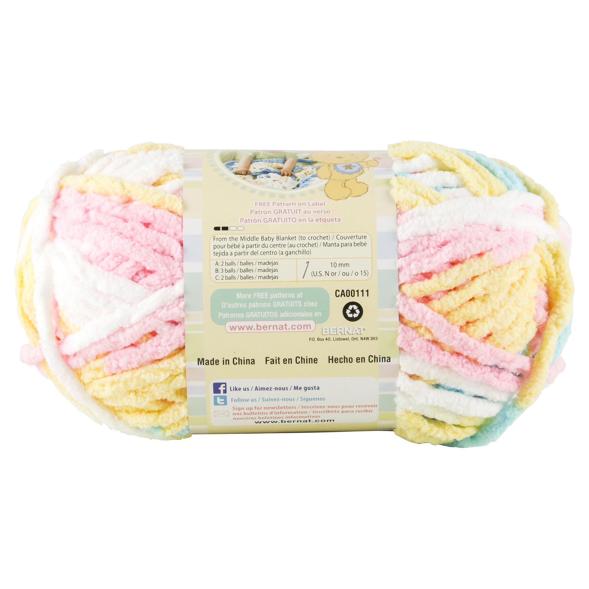 Lujo Los Patrones De Crochet Libre Para Hilo De Manta De Bebé Bernat ...