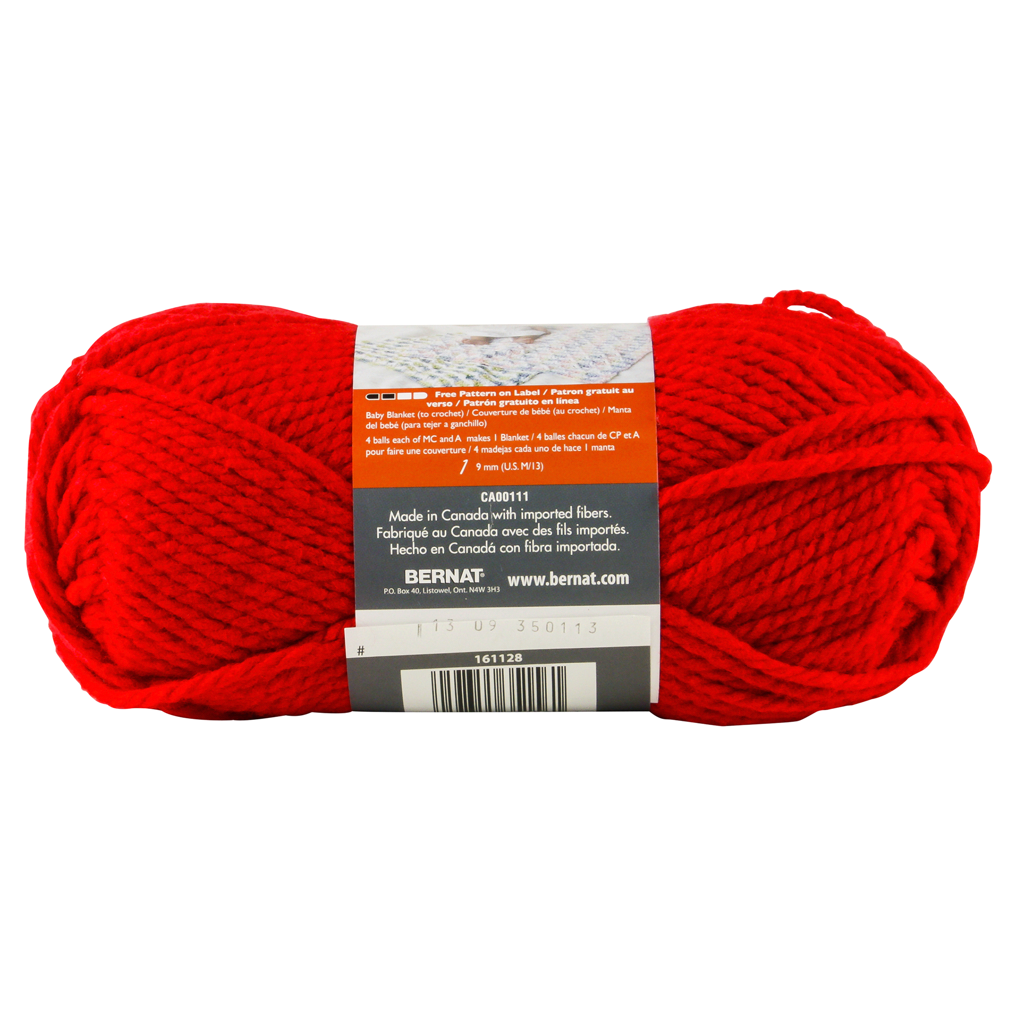 Bernat Softee Chunky Yarn Berry Red | Meijer.com