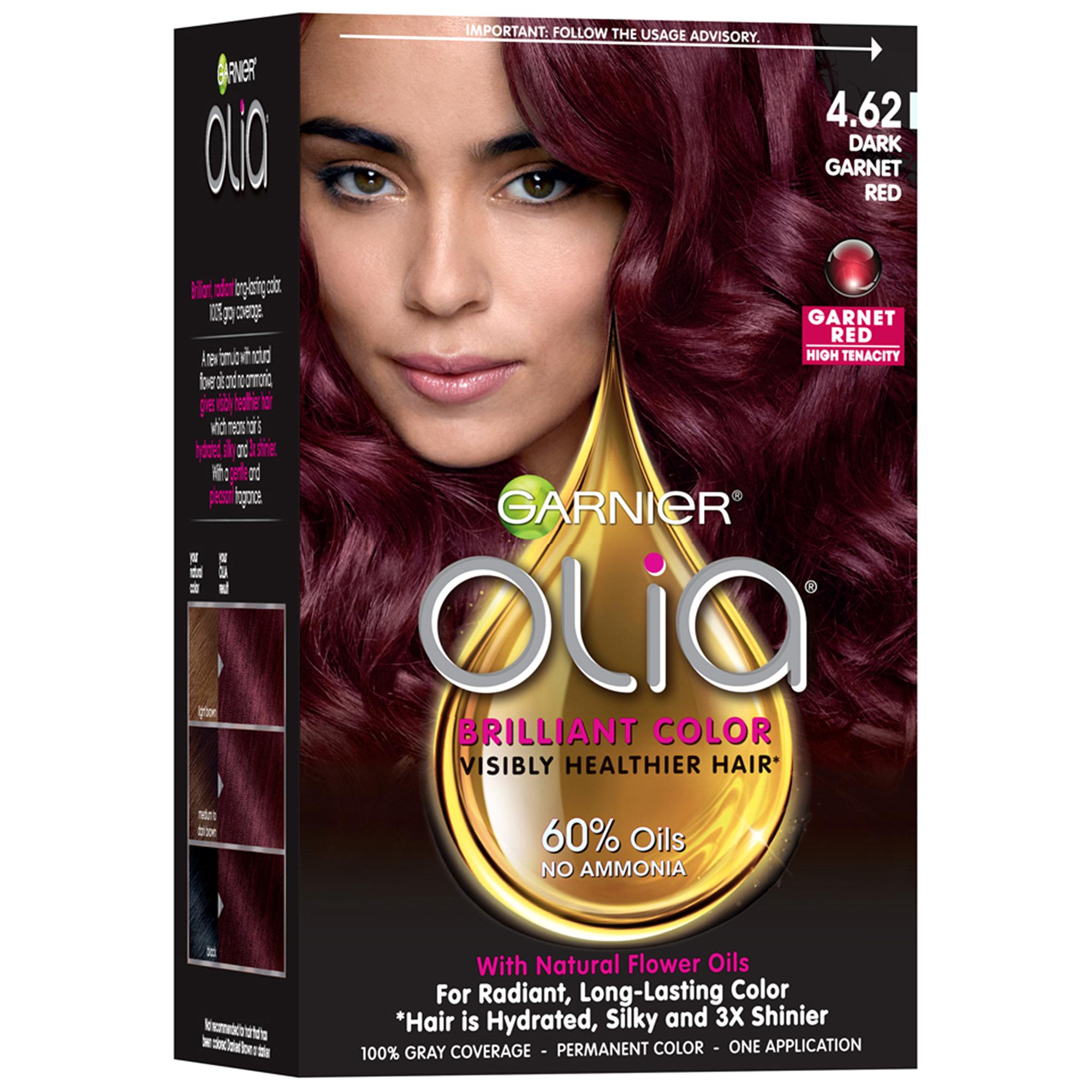 Dark Red Hair Dye From A Box