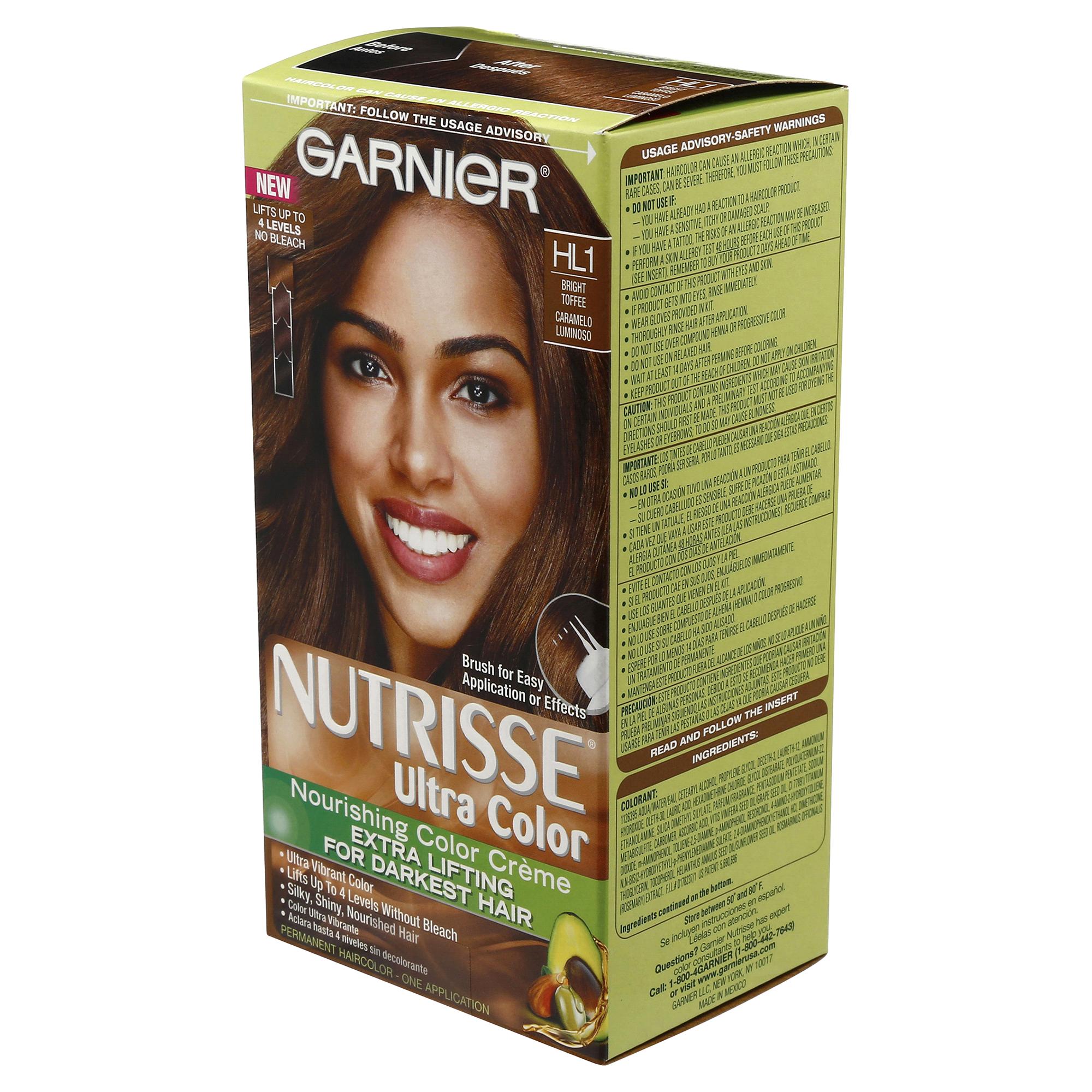 Garnier Nutrisse Ultra Color HL1 Bright Toffee | Meijer.com