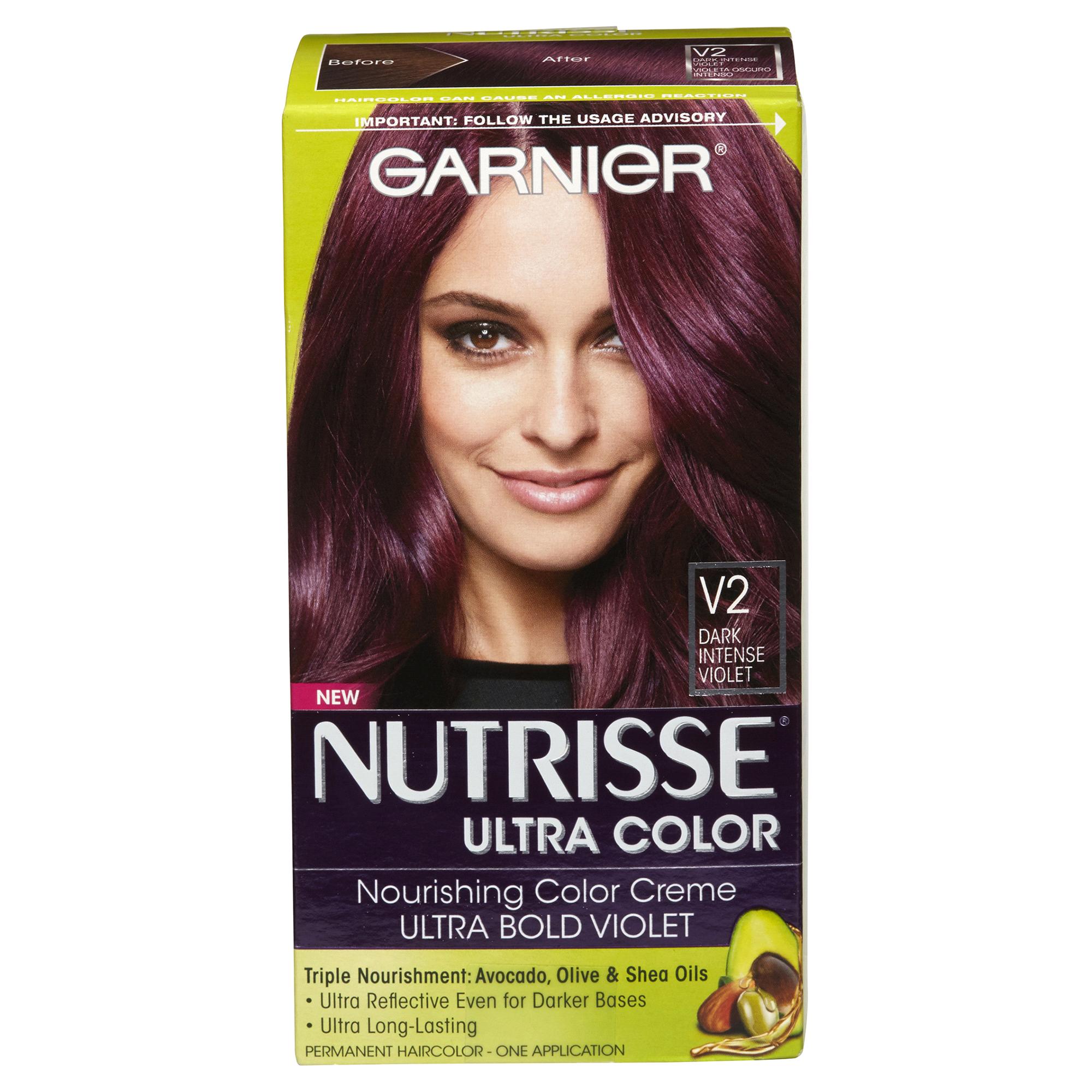 Garnier Nutrisse Ultra Color Creme Dark Intense Violet V2 Meijer