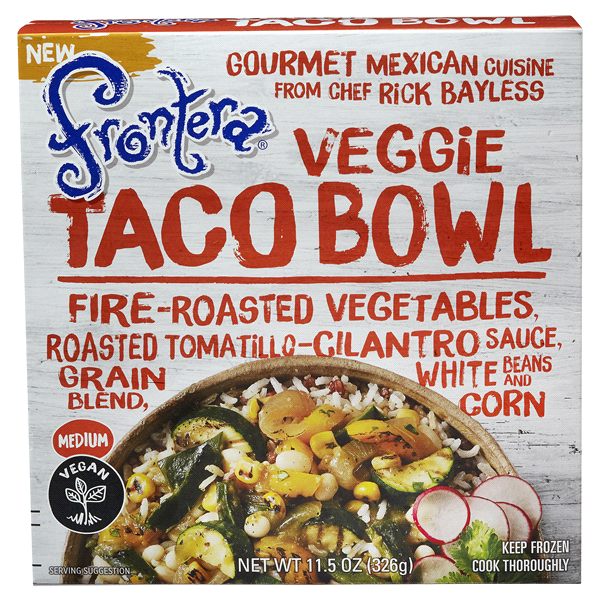Frontera Veggie Taco Bowl 115 Oz: Chipotle Bowl Coloring Sheet At Alzheimers-prions.com