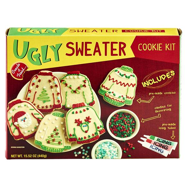 Create A Treat Ugly Christmas Sweater Cookie Kit 1552 Oz Meijercom