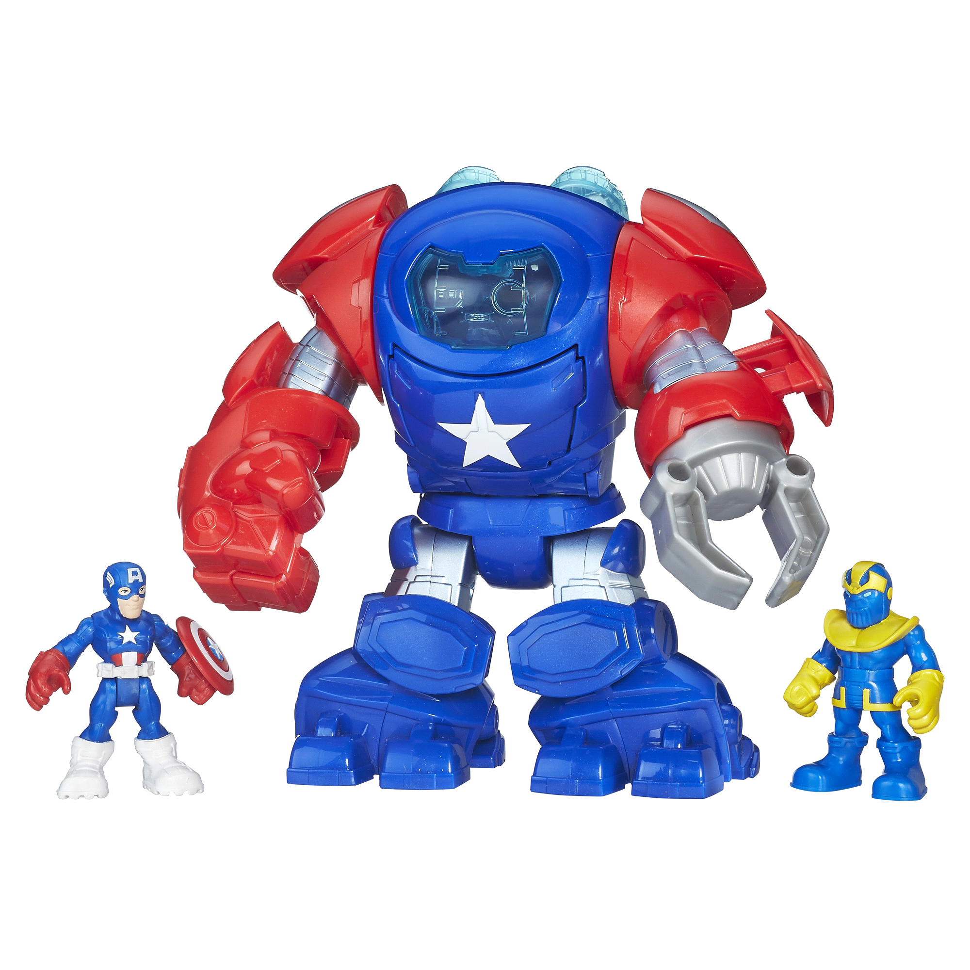 Playskool Heroes Marvel Super Hero Adventures Deluxe Adventure Pack Switch Lego 2 English Asia Games