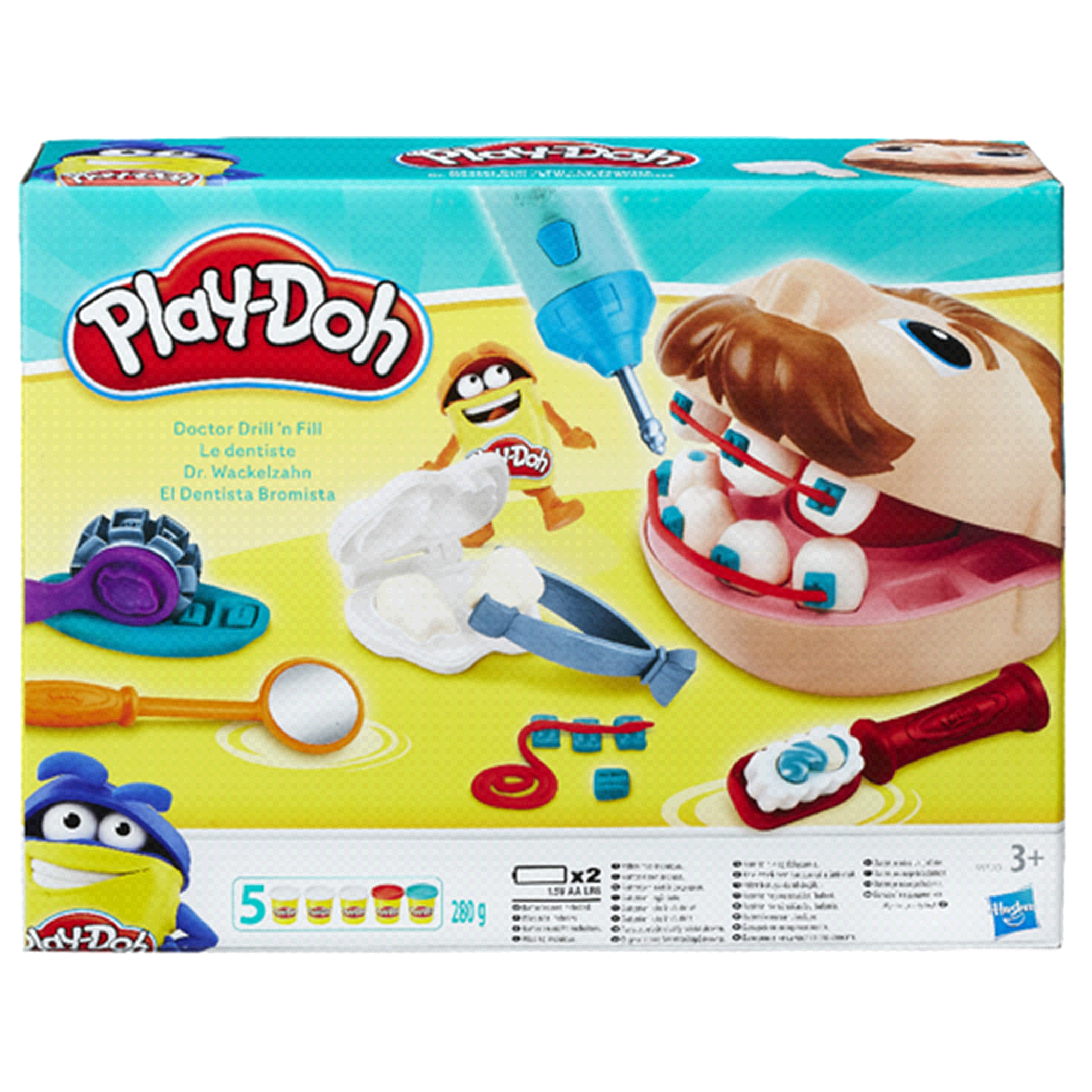 Play Doh Doctor Drill N Fill Set Meijer