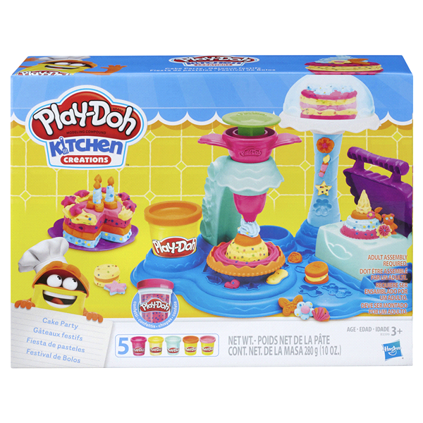 play doh kitchen creations cake party - Kitchen Creations