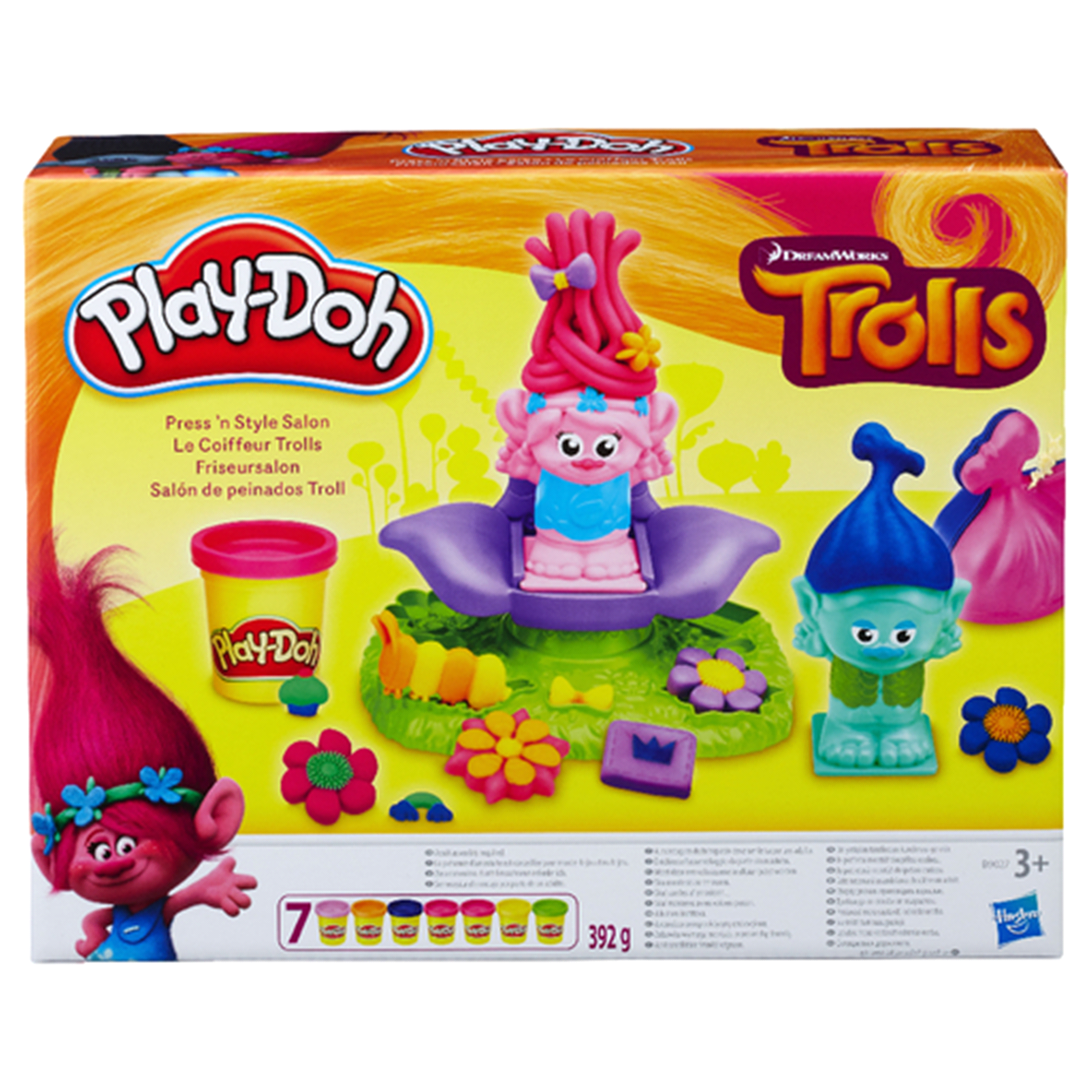 Play-Doh Dreamworks Trolls Press n Style Salon | Meijer.com