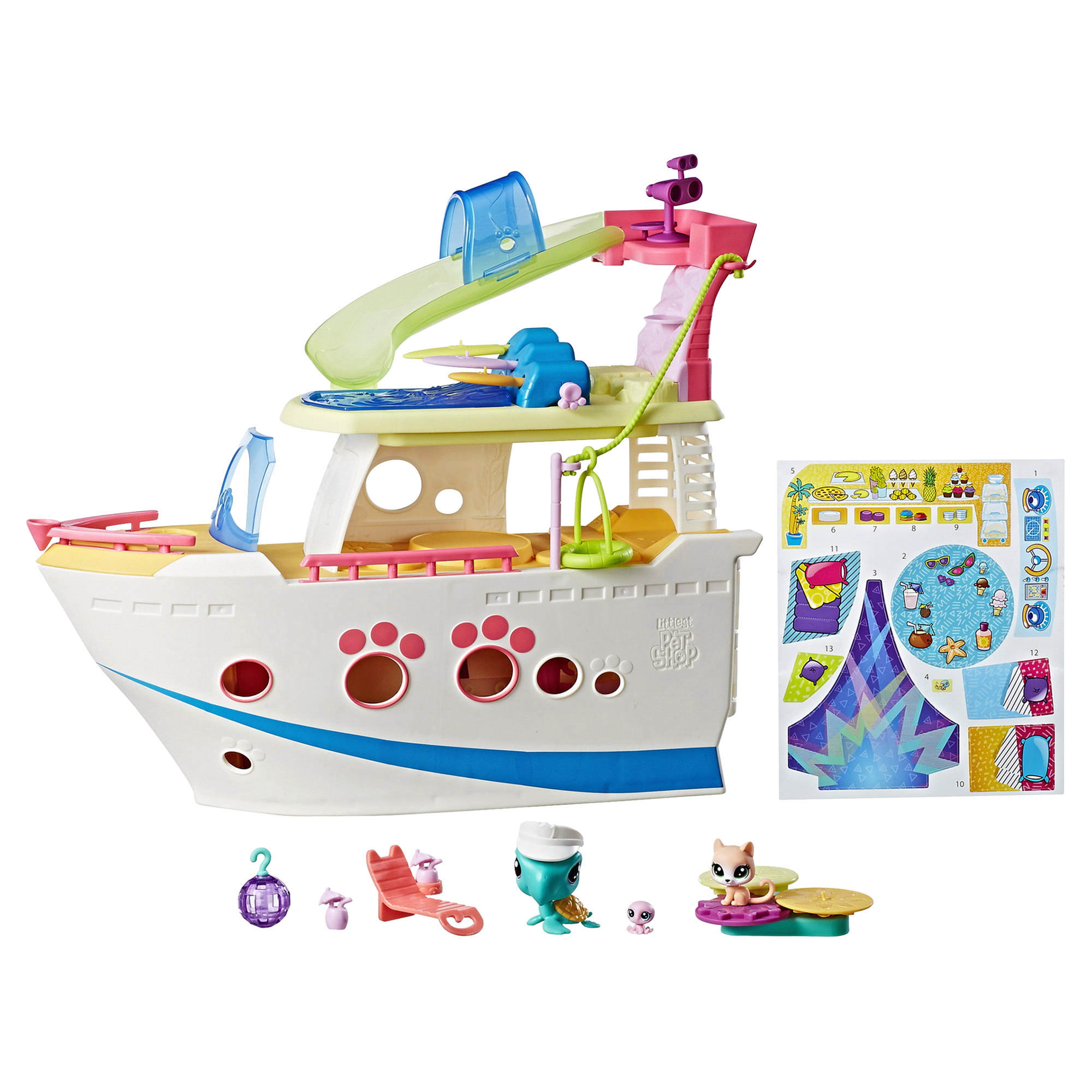 Littlest Pet Shop LPS Cruise Ship | Meijer.com