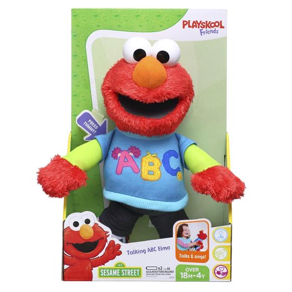 Playskool Sesame Street Talking ABC Elmo Plush  7a9d9c1a1