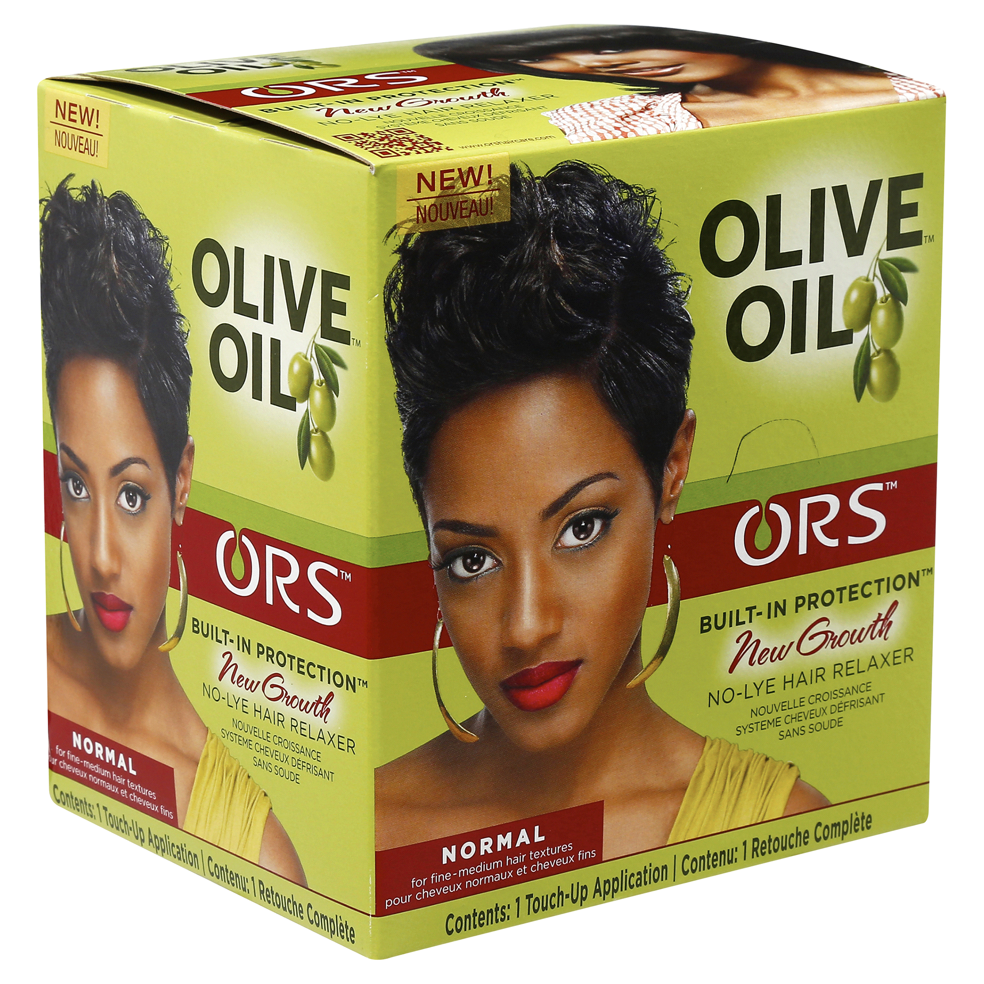 Inspirational Relaxer and Permanent Hair Color