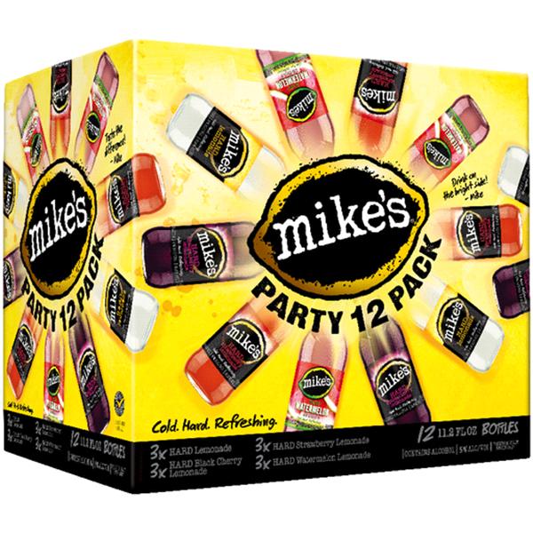 mikes hard lemonade party pack 11 2 oz 12 pk meijer com