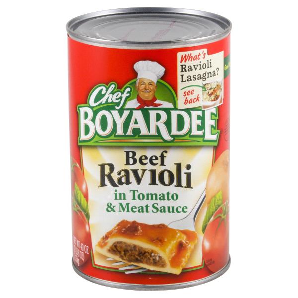 Chef Boyardee Beef Ravioli 40 Oz