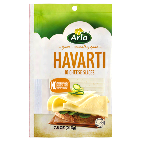Light Havarti Cheese Nutrition - Nutrition Ftempo