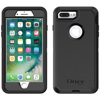OtterBox Defender Case For iPhone 7   8 Plus - Black 1b90a35b7