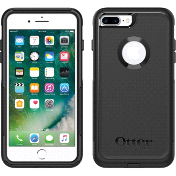 OtterBox Commuter Case for iPhone 7   8 Plus - Black  f5f6212b9e