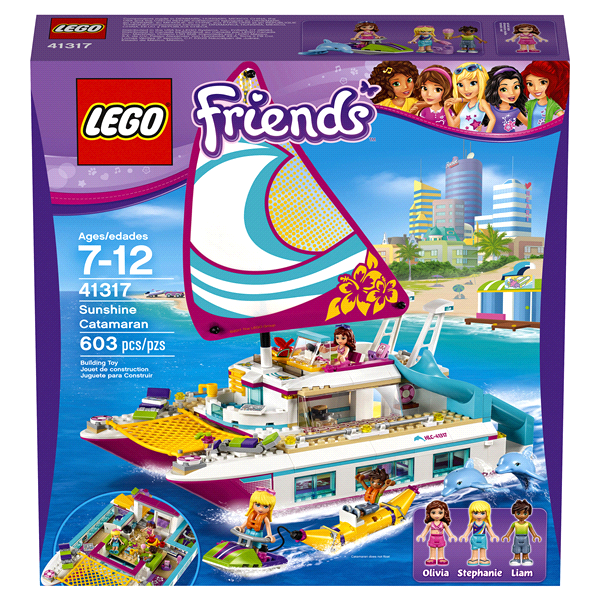LEGO Friends Sunshine Catamaran  sc 1 st  Meijer & LEGO Friends Sunshine Catamaran | Meijer.com