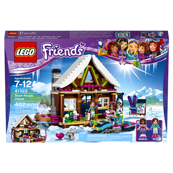 LEGO Friends Snow Resort Chalet | Meijer.com