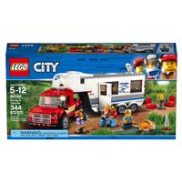 Meijer.com deals on LEGO City Great Vehicles Pickup & Caravan 60182