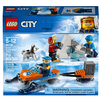 Meijer.com deals on LEGO City Arctic Expedition Exploration Team 60191