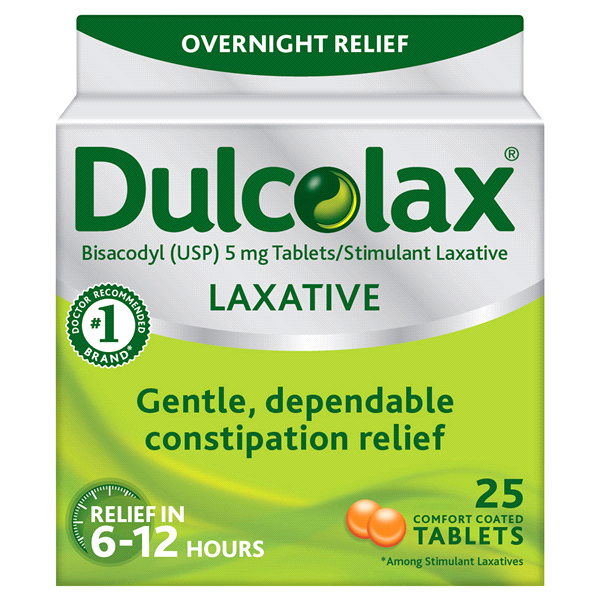 Dulcolax Laxative Tablets 25 Count Meijer