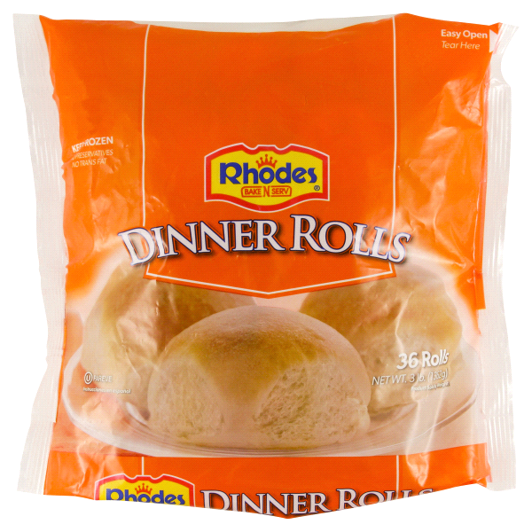 Rhodes 36 Count Frozen Dinner Roll Dough 48 Oz Meijer Com
