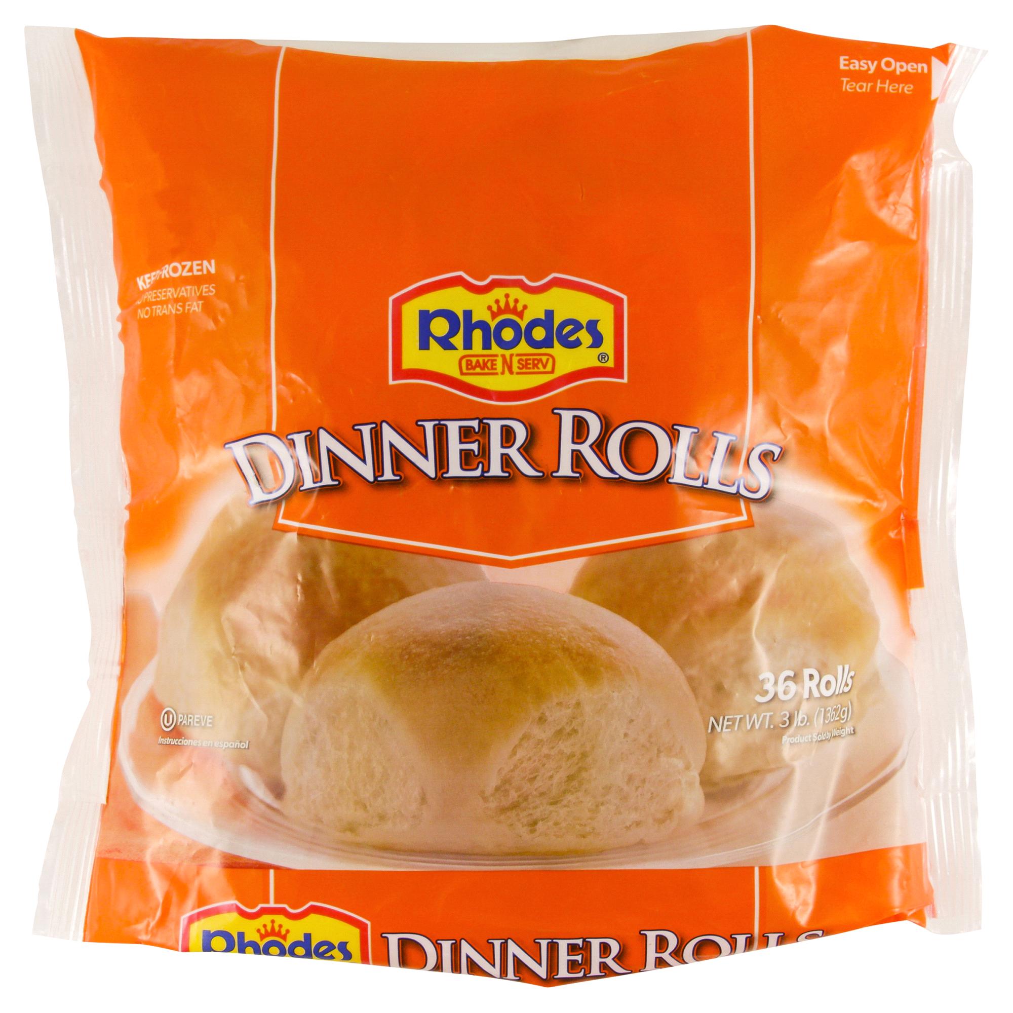 Rhodes 36 Count Frozen Dinner Roll Dough 48 Oz Meijer