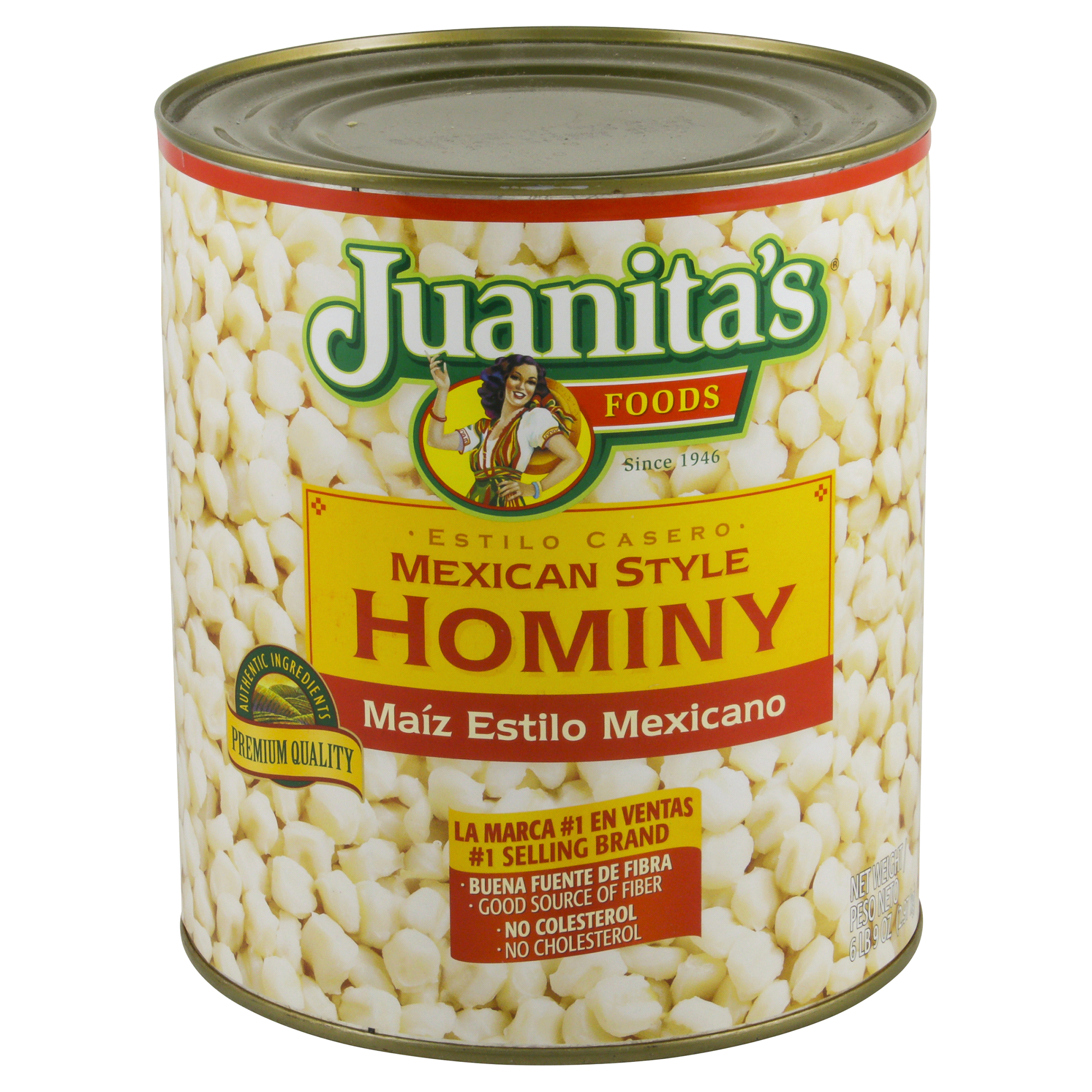 How to cook hominy for fishing